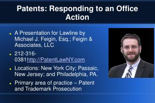 Patents: Responding to an Office Action