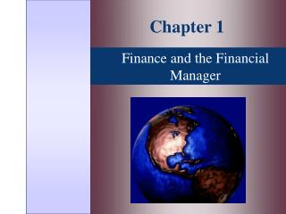 Finance and the Financial Manager