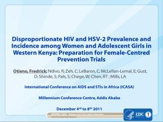 International Conference on AIDS and STIs in Africa (ICASA)
