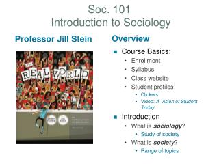Soc. 101  Introduction to Sociology