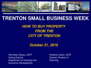 TRENTON SMALL BUSINESS WEEK
