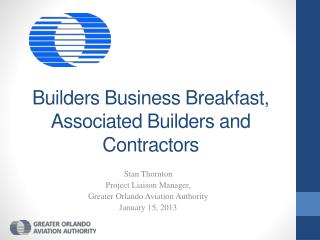Builders Business Breakfast, Associated Builders and Contractors