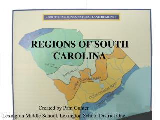 REGIONS OF SOUTH CAROLINA