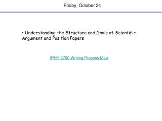 Friday, October 24