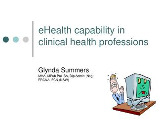 eHealth capability in clinical health professions