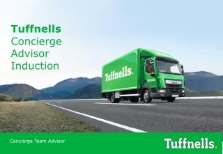 Tuffnells Concierge Advisor Induction