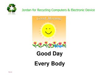 Jordan for Recycling Computers & Electronic Device