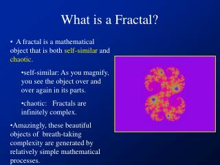 What is a Fractal?