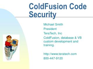 ColdFusion Code Security