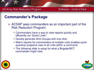 Commander's Package