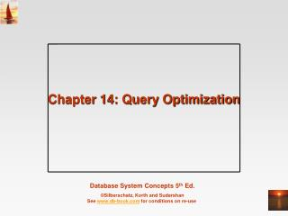 Chapter 14: Query Optimization