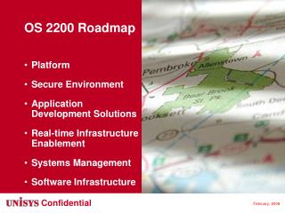 OS 2200 Roadmap Platform Secure Environment Application Development Solutions