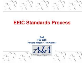 EEIC Standards Process