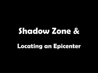 Shadow Zone &