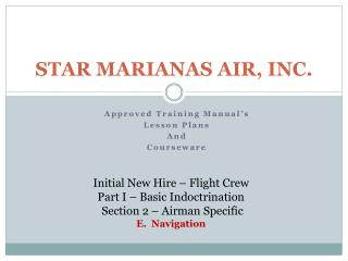 STAR MARIANAS AIR, INC.