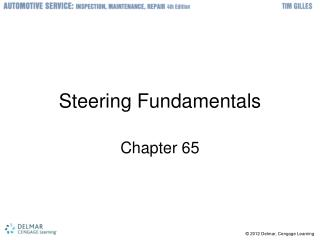 Steering Fundamentals