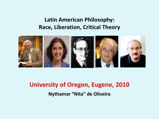 Latin American Philosophy: Race, Liberation, Critical Theory