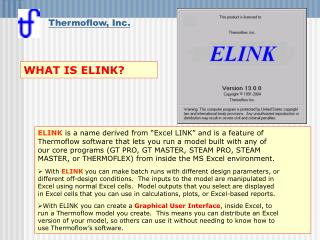WHAT IS ELINK?