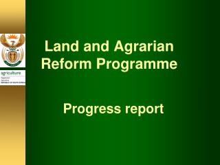 agrarian reform project The comprehensive agrarian reform program  it made an amendment to section 63 of carl to increase the fund of this project to 100 billion.