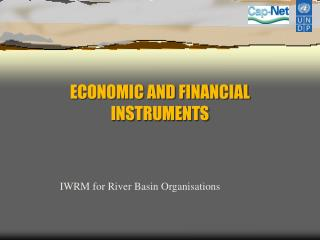 ECONOMIC AND FINANCIAL INSTRUMENTS