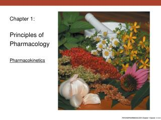 Chapter 1: Principles of Pharmacology Pharmacokinetics