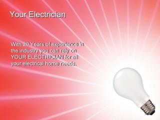 Your Electrician