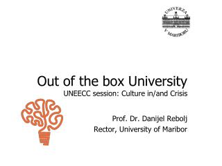 Out of the box University UNEECC session: Culture in/and Crisis