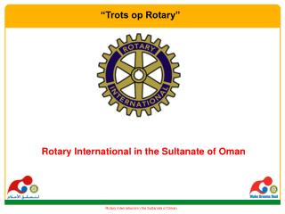 Rotary International in the Sultanate of Oman