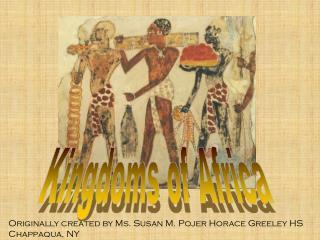 Kingdoms of Africa