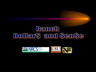 Ranch  Dollar$  and $en$e