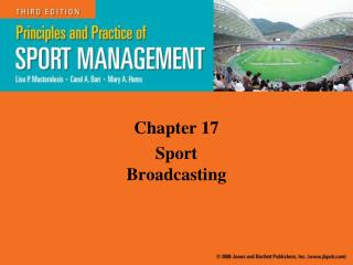 Chapter 17 Sport Broadcasting