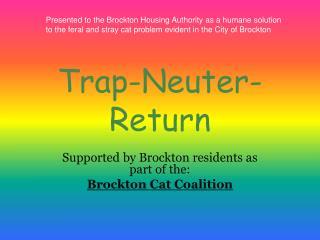Trap-Neuter-Return