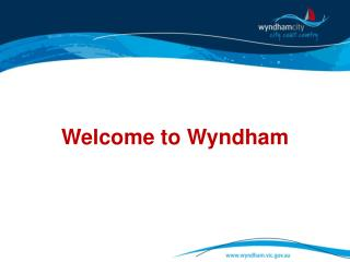 Welcome to Wyndham
