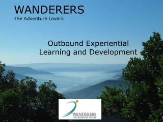 WANDERERS The Adventure Lovers