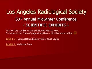 Los Angeles Radiological Society