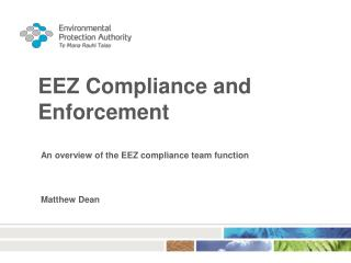 EEZ Compliance and Enforcement