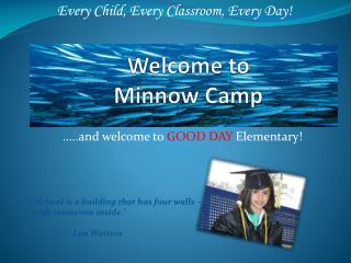 Welcome to Minnow Camp