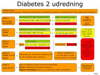 Diabetes 2 udredning