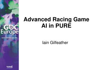 Advanced Racing Game AI in PURE
