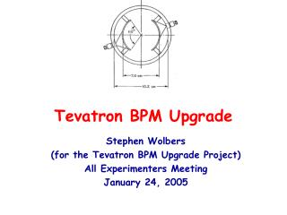 Tevatron BPM Upgrade