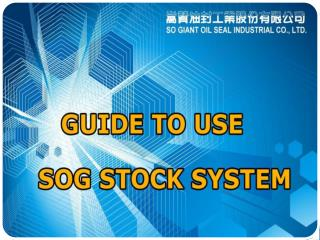 Online Stock System