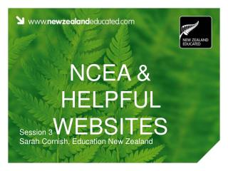 NCEA & HELPFUL WEBSITES