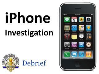 iPhone Investigation