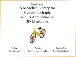 Master Thesis: A  Modelica  Library for  Multibond Graphs and its  Application  in  3D-Mechanics