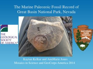 The Marine Paleozoic Fossil Record of Great Basin National Park, Nevada