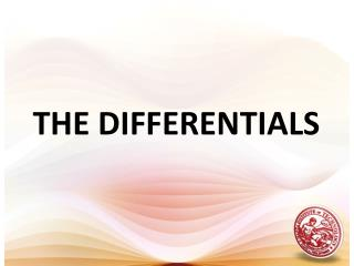 THE DIFFERENTIALS