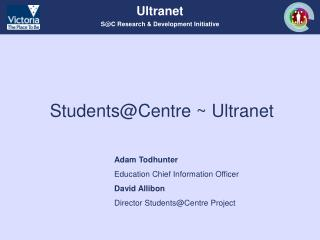 Students@Centre ~ Ultranet