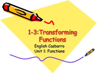 1-3:Transforming Functions
