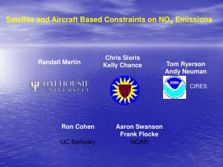 Satellite and Aircraft Based Constraints on NO X  Emissions
