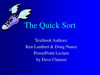 The Quick Sort
